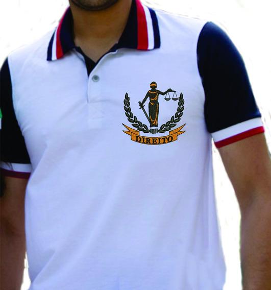 Camisa De Faculdade Gola Polo - Direito Bord