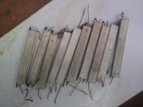 Resistores De Fio Cerâmico Telewatt 1r5 10w///3r9 10w Vintag