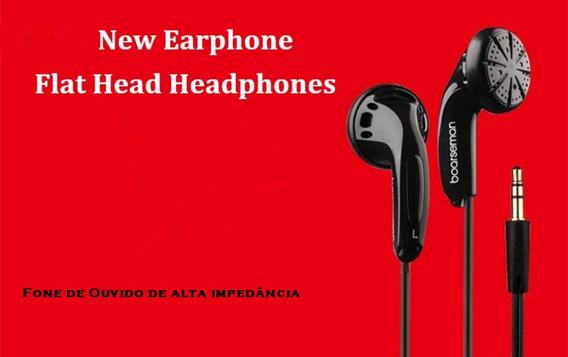 Fone De Ouvido Profissional Auricular De Alta Impedância