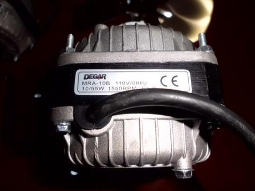 Motor Ventilador De 10 Watts 110 Volts Con Aspa Y Base