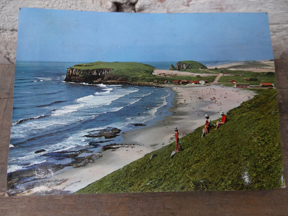 Cartão Postal Torres Década 60 : Pr. Da Cal, Furnas, Guarita
