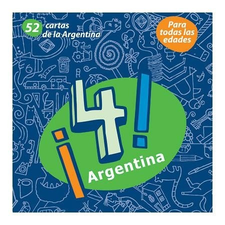 Juego Cartas Didáctico ¡4! Argentina - Chicos.net Ediciones