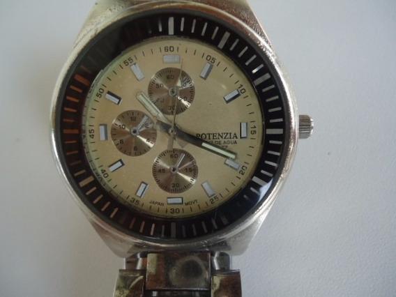 Relógio Quartz Potenzia Titaniun