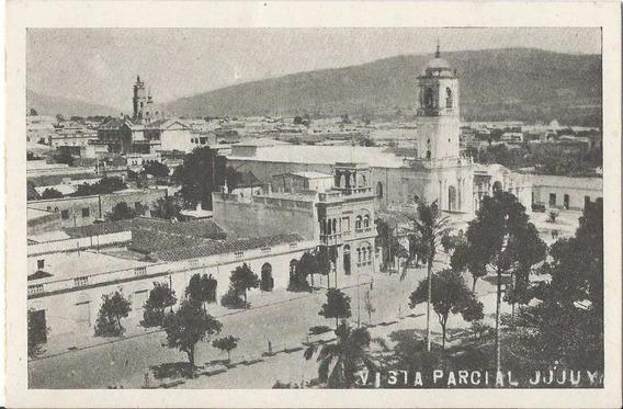 W931// Vista Parcial De La Catedral. (jujuy).