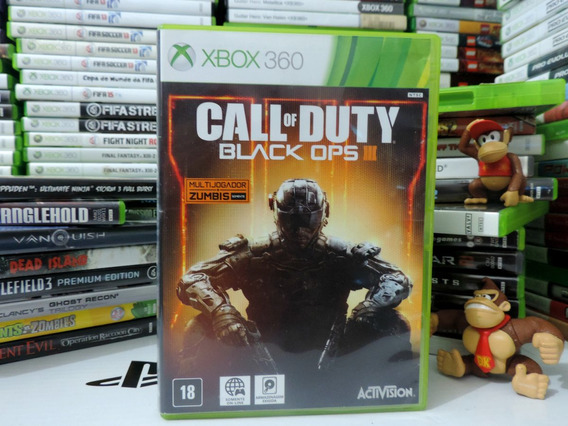 Call Off Duty Black Ops 3 Original Xbox 360 Barato