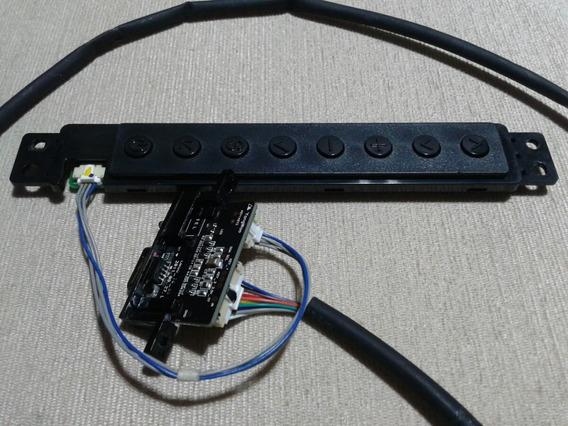 Teclado De Funções E Sensor Remoto Tv Led Lg 47lm6400