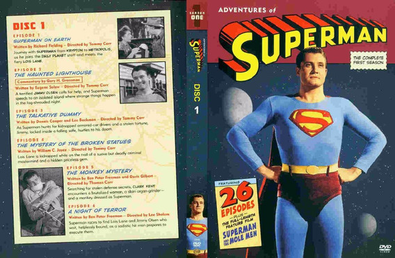 As Aventuras Do Superman - Serie Completa Dublada Legendada