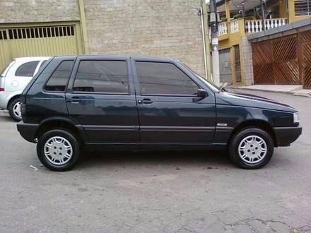 Sucata Uno Mille 1996 (somente Pra Retirada De Peças)