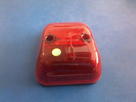 Lanterna Delimitadora Onibus Vermelha