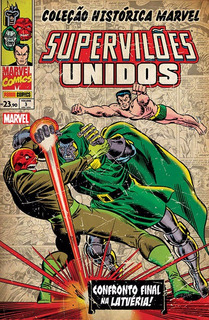 Hq - Coleção Histórica Marvel - Supervilões Unidos #03