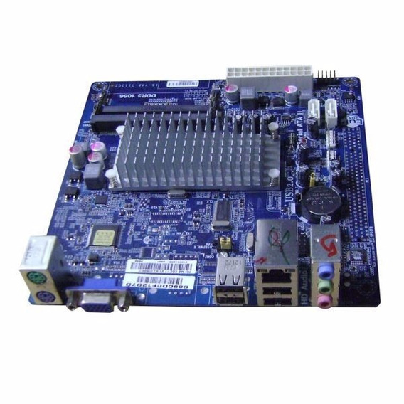 Placa Mae Desk Ecs Cdc-i V1.0+ D2500 Ii C/ Atom Dc D2500 1.8