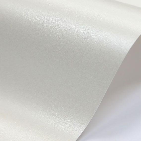 Papel Especial Branco Perolado Aspen180g 21x31 Cm A4 100 Fls