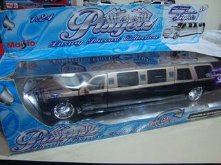 Miniatura Limousine Lincoln Navigator - 1/24 - Maisto Rara
