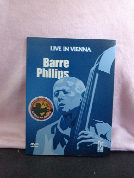 Barre Philips - Live In Vienna Dvd Digipack
