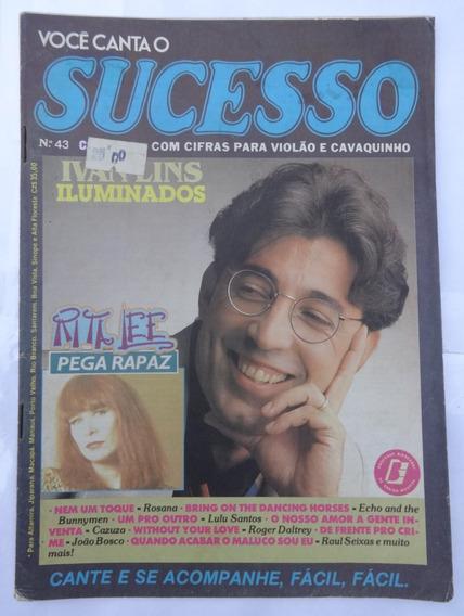 Você Canta O Sucesso Nº 43: Rita Lee - Letras Cifradas -1987