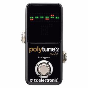 Pedal Afinador Tc Electronic Mini Polytune 2 Noir - Pd1016
