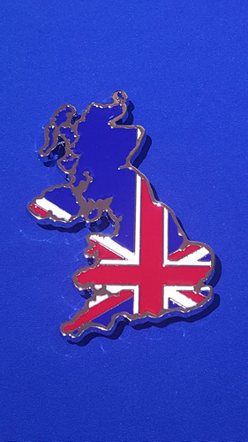 Imagen 1 de 2 de Emblema Inglaterra Metálico Atornillable