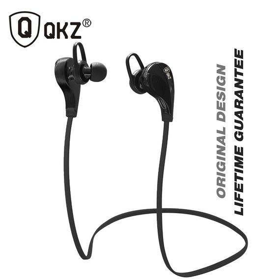 Fone De Ouvido Profissional Bluetooth Qkz Único No Brasil