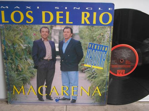 Lp Vinilo Los Del Rio Macarena Maxi Single Print.españa 1993