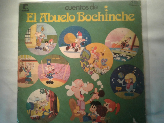 Lp Cuentos De Abuelo Bochinche Vinilo Original 1974