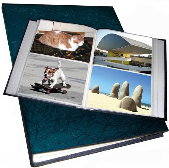 Álbum .p/200 Cartões Postais .ou Fotos 10x15cm