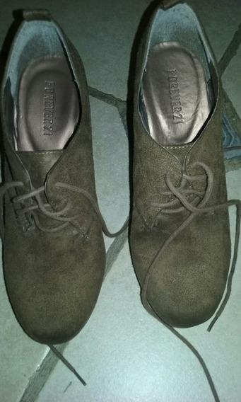 Botas Zapatos Botineta Importada Forever 38 Casi Sin Uso