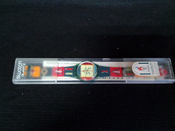 Relogio Pulso Swatch - Olimpiadas 1996 Gn 150- Made France