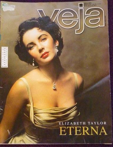 Imagem 1 de 1 de Revistas Veja - Elizabeth Taylor Eterna