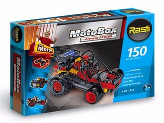 Rasti Motobox Arenero Atv500 150 Piezas Con Motor Incluido