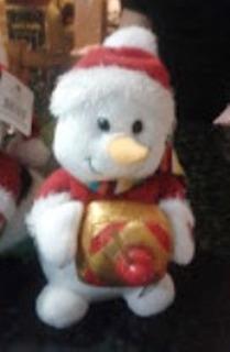 Muñecos Peluches Navidad Con Musica Baila Y Luz Led Nuevos .