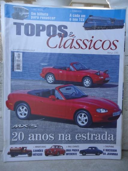 Topos & Classicos N°107 Mazda Mx-5 Miata Dauphine Miniaturas