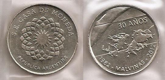 Medalla Serie Casa De Moneda - 30 Años De Malvinas