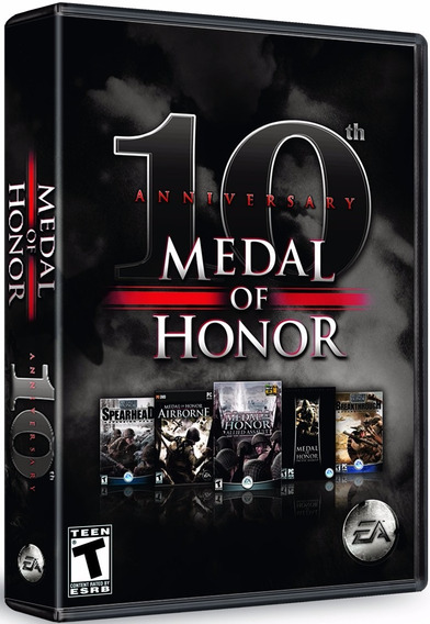 Medal Of Honor 10 Anniversary - Pc Dvd - Frete 8 Reais