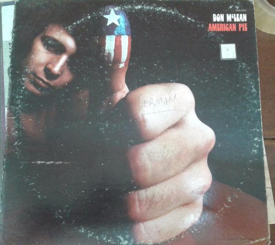 Don Mclean - American Pie Disco Vinilo
