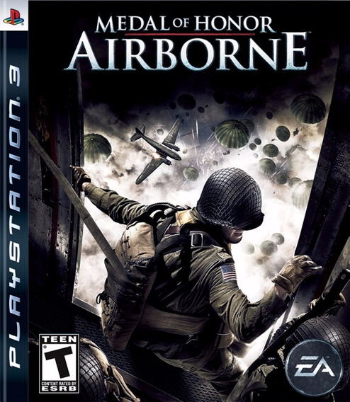Jogo Novo Medal Of Honor Airbone Para Playstation 3