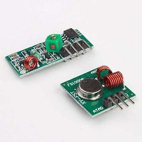 Modulo Rf 433mhz Transmissor Receptor Para Controle Remoto