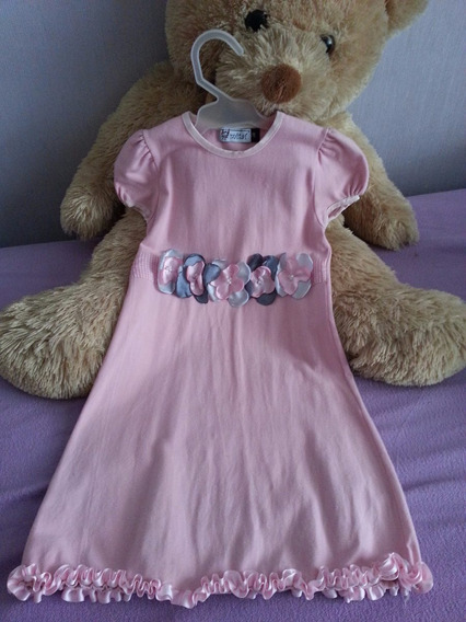 Vestido De Fiesta Para Nena - Talle 4