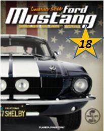 Coleção Ford Mustang Shelby Gt 500 - Vol.18