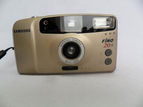 Câmera Máquina Fotográfica Antiga Samsung Fino 20 S Coleção