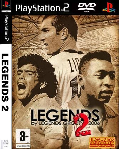 Classico Pes 5 Legends 2 Para Ps2 Pro Evolution Soccer