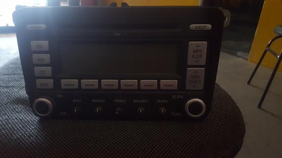 Aparelho De Som Radio Cd Original Vw Jetta 2.5 2009