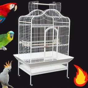 Viveiro Chale Grande Papagaio Arara Cacatua Ring 12xsjuros