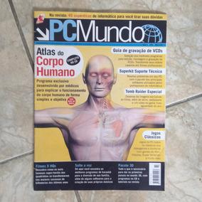 Revista Pc Mundo N3 Filmes X Hqs Pacote 3d Tomb Raider