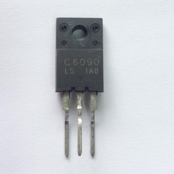 10 Peças: Transistor 2sc6090 2sc 6090 - Perna Torta
