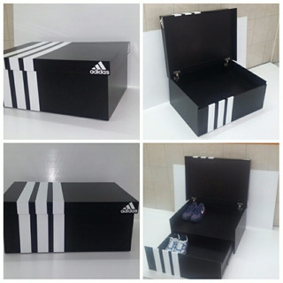Zapatera Mueble En Forma De Caja De Zapatos