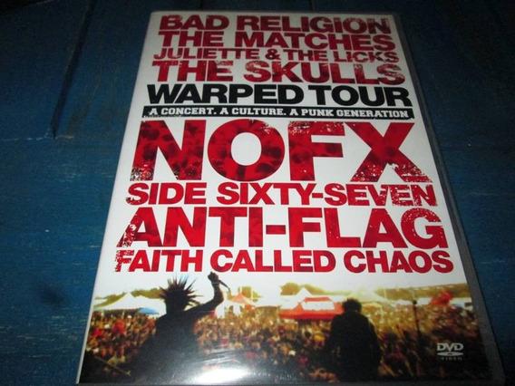 Dvd Warped Tour Punk Bad Religion Nofx Skulls
