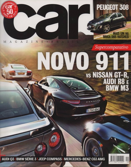 Car N°40 Porsche 911 Nissan Gt-r Audi R8 Bmw M3 Peugeot 308