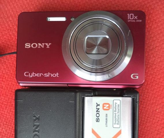 Câmera W690 Com Câmera Preta Da Sony Mod. Wzoom10x
