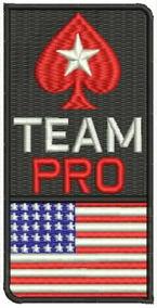 Patch Bordado Dv047 Pokerstars Pro Team Usa Poker Online Tag