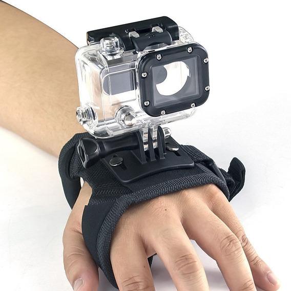 Suporte Alça De Mão Câmera Gopro Hero 3 E 4 Wrist Mount
